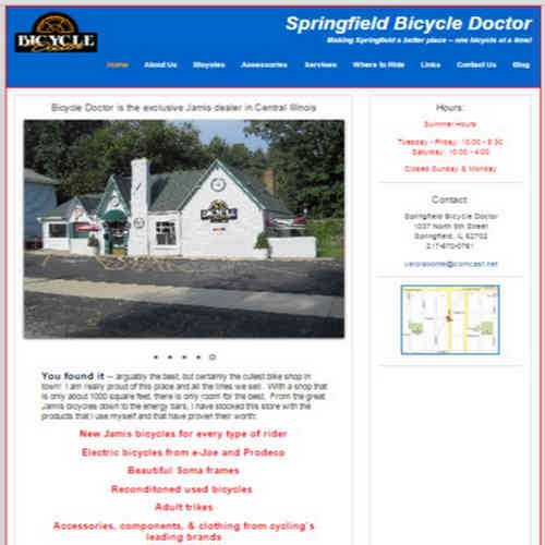 http://www.SpringfieldBicycleDoctor.com/